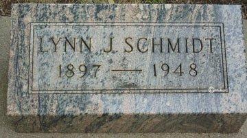 SCHMIDT, LYNN J. - Minnehaha County, South Dakota | LYNN J. SCHMIDT - South Dakota Gravestone Photos