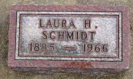 SCHMIDT, LAURA H. - Minnehaha County, South Dakota | LAURA H. SCHMIDT - South Dakota Gravestone Photos