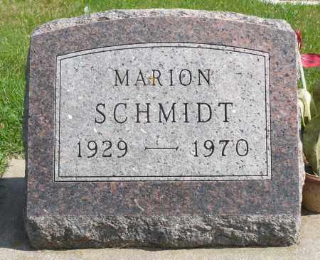 SCHMIDT, MARION - Minnehaha County, South Dakota | MARION SCHMIDT - South Dakota Gravestone Photos