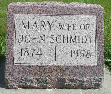 SCHMIDT, MARY - Minnehaha County, South Dakota | MARY SCHMIDT - South Dakota Gravestone Photos