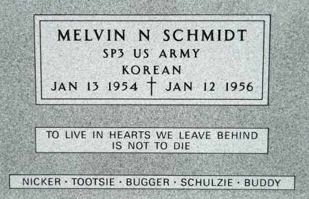 "SCHMIDT, MELVIN ""PEPPERONI"" N. (KOREAN) - Minnehaha County, South Dakota 