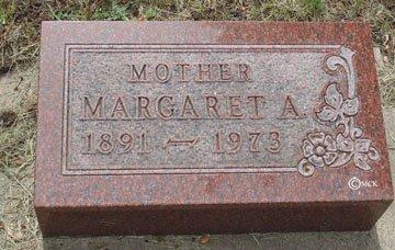SCHMIDT, MARGARET A. - Minnehaha County, South Dakota   MARGARET A. SCHMIDT - South Dakota Gravestone Photos