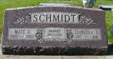 SCHMIDT, ISABELLA C. - Minnehaha County, South Dakota   ISABELLA C. SCHMIDT - South Dakota Gravestone Photos