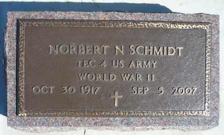 SCHMIDT, NORBERT NICHOLAS (WWII) - Minnehaha County, South Dakota | NORBERT NICHOLAS (WWII) SCHMIDT - South Dakota Gravestone Photos