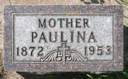 SCHMIDT, PAULINA - Minnehaha County, South Dakota | PAULINA SCHMIDT - South Dakota Gravestone Photos