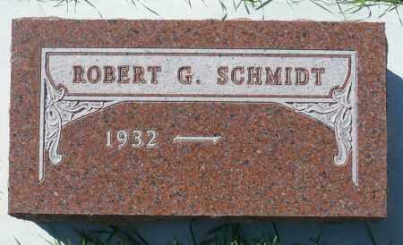 SCHMIDT, ROBERT G. - Minnehaha County, South Dakota | ROBERT G. SCHMIDT - South Dakota Gravestone Photos