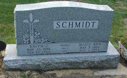 SCHMIDT, RALPH J. - Minnehaha County, South Dakota   RALPH J. SCHMIDT - South Dakota Gravestone Photos