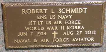 SCHMIDT, ROBERT LEROY - Minnehaha County, South Dakota | ROBERT LEROY SCHMIDT - South Dakota Gravestone Photos