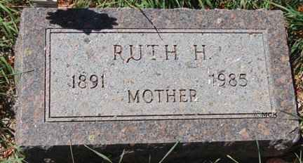 SCHMIDT, RUTH H. - Minnehaha County, South Dakota | RUTH H. SCHMIDT - South Dakota Gravestone Photos