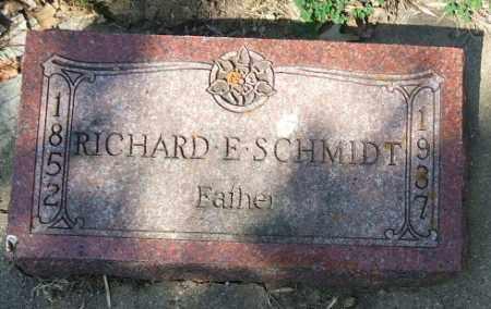 SCHMIDT, RICHARD E. - Minnehaha County, South Dakota | RICHARD E. SCHMIDT - South Dakota Gravestone Photos