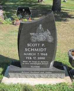 SCHMIDT, SCOTT P. - Minnehaha County, South Dakota | SCOTT P. SCHMIDT - South Dakota Gravestone Photos