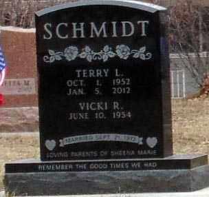 SCHMIDT, TERRY L. - Minnehaha County, South Dakota   TERRY L. SCHMIDT - South Dakota Gravestone Photos