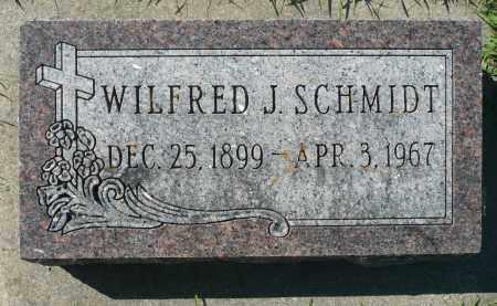 SCHMIDT, WILFRED J. - Minnehaha County, South Dakota | WILFRED J. SCHMIDT - South Dakota Gravestone Photos