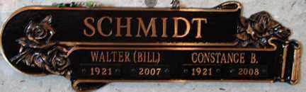 "SCHMIDT, WALTER ""BILL"" - Minnehaha County, South Dakota | WALTER ""BILL"" SCHMIDT - South Dakota Gravestone Photos"