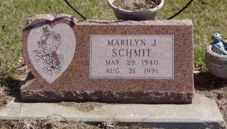 SCHMIT, MARILYN J. - Minnehaha County, South Dakota | MARILYN J. SCHMIT - South Dakota Gravestone Photos