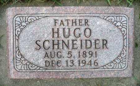 SCHNEIDER, HUGO - Minnehaha County, South Dakota   HUGO SCHNEIDER - South Dakota Gravestone Photos