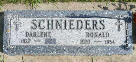 SCHNIEDERS, DARLENE - Minnehaha County, South Dakota | DARLENE SCHNIEDERS - South Dakota Gravestone Photos