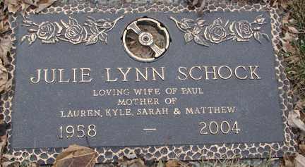 SCHOCK, JULIE LYNN - Minnehaha County, South Dakota   JULIE LYNN SCHOCK - South Dakota Gravestone Photos
