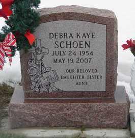 SCHOEN, DEBRA KAYE - Minnehaha County, South Dakota   DEBRA KAYE SCHOEN - South Dakota Gravestone Photos