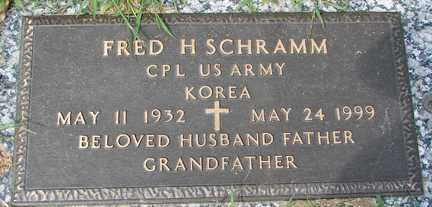 SCHRAMM, FRED H. (KOREA) - Minnehaha County, South Dakota | FRED H. (KOREA) SCHRAMM - South Dakota Gravestone Photos