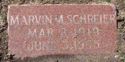 SCHREIER, MARVIN M. - Minnehaha County, South Dakota | MARVIN M. SCHREIER - South Dakota Gravestone Photos