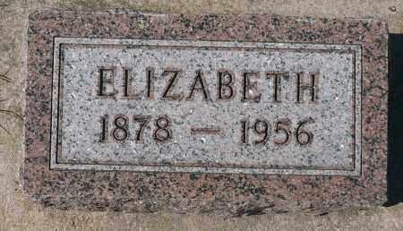SCHREINER, ELIZABETH - Minnehaha County, South Dakota | ELIZABETH SCHREINER - South Dakota Gravestone Photos