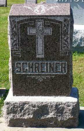 SCHREINER, FAMILY MARKER - Minnehaha County, South Dakota | FAMILY MARKER SCHREINER - South Dakota Gravestone Photos