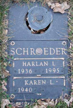 SCHROEDER, HARLAN L. - Minnehaha County, South Dakota | HARLAN L. SCHROEDER - South Dakota Gravestone Photos