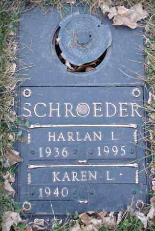 SCHROEDER, KAREN L. - Minnehaha County, South Dakota | KAREN L. SCHROEDER - South Dakota Gravestone Photos