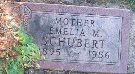SCHUBERT, EMELIA M. - Minnehaha County, South Dakota | EMELIA M. SCHUBERT - South Dakota Gravestone Photos