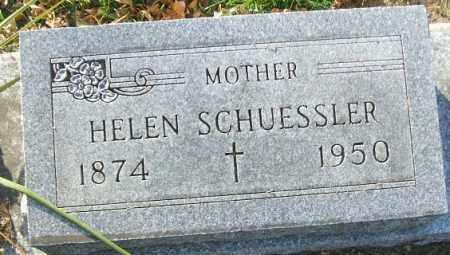 SCHUESSLER, HELEN - Minnehaha County, South Dakota | HELEN SCHUESSLER - South Dakota Gravestone Photos
