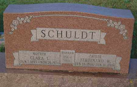 SCHULDT, CLARA L. - Minnehaha County, South Dakota | CLARA L. SCHULDT - South Dakota Gravestone Photos