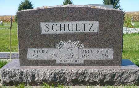 SCHULTZ, GEORGE E. - Minnehaha County, South Dakota   GEORGE E. SCHULTZ - South Dakota Gravestone Photos