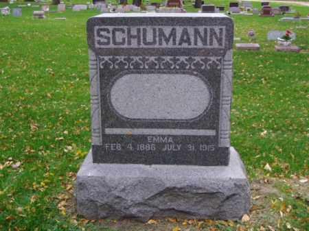 SCHUMANN, EMMA - Minnehaha County, South Dakota | EMMA SCHUMANN - South Dakota Gravestone Photos