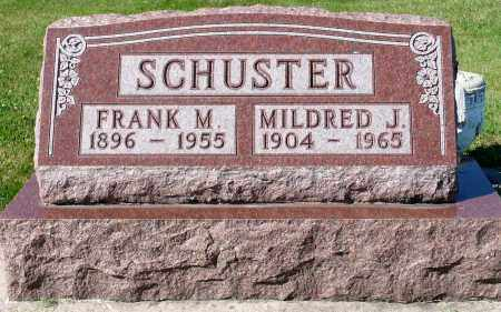SCHUSTER, MILDRED J. - Minnehaha County, South Dakota   MILDRED J. SCHUSTER - South Dakota Gravestone Photos