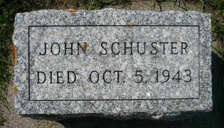 SCHUSTER, JOHN - Minnehaha County, South Dakota | JOHN SCHUSTER - South Dakota Gravestone Photos