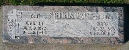 SCHUSTER, MARTIN - Minnehaha County, South Dakota | MARTIN SCHUSTER - South Dakota Gravestone Photos
