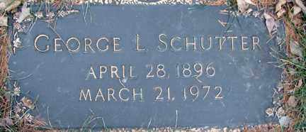 SCHUTTER, GEORGE L. - Minnehaha County, South Dakota | GEORGE L. SCHUTTER - South Dakota Gravestone Photos