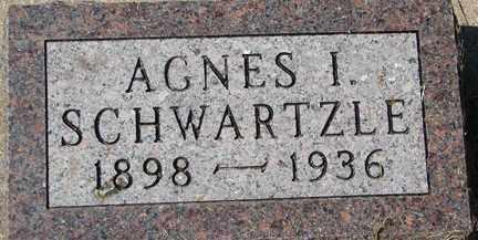 SCHWARTZLE, AGNES I. - Minnehaha County, South Dakota | AGNES I. SCHWARTZLE - South Dakota Gravestone Photos