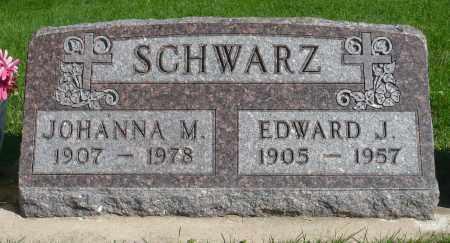 SCHWARZ, EDWARD J. - Minnehaha County, South Dakota | EDWARD J. SCHWARZ - South Dakota Gravestone Photos