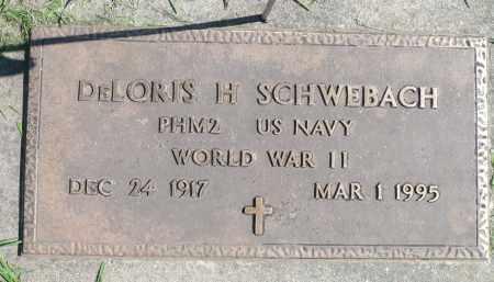 SCHWEBACH, DELORIS H. (WWII) - Minnehaha County, South Dakota   DELORIS H. (WWII) SCHWEBACH - South Dakota Gravestone Photos