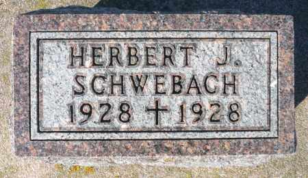 SCHWEBACH, HERBERT J. - Minnehaha County, South Dakota | HERBERT J. SCHWEBACH - South Dakota Gravestone Photos