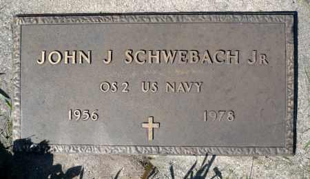 SCHWEBACH, JOHN J. JR. (MILITARY) - Minnehaha County, South Dakota   JOHN J. JR. (MILITARY) SCHWEBACH - South Dakota Gravestone Photos