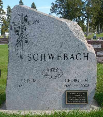 SCHWEBACH, LOIS M. - Minnehaha County, South Dakota | LOIS M. SCHWEBACH - South Dakota Gravestone Photos