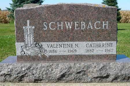 SCHWEBACH, VALENTINE N. - Minnehaha County, South Dakota | VALENTINE N. SCHWEBACH - South Dakota Gravestone Photos