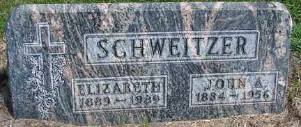SCHWEITZER, ELIZABETH - Minnehaha County, South Dakota | ELIZABETH SCHWEITZER - South Dakota Gravestone Photos