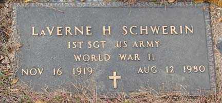 SCHWERIN, LAVERNE H. - Minnehaha County, South Dakota | LAVERNE H. SCHWERIN - South Dakota Gravestone Photos