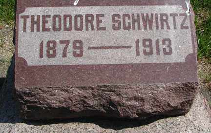 SCHWIRTZ, THEODORE - Minnehaha County, South Dakota | THEODORE SCHWIRTZ - South Dakota Gravestone Photos