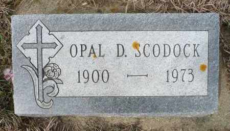 SCODOCK, OPAL D. - Minnehaha County, South Dakota | OPAL D. SCODOCK - South Dakota Gravestone Photos