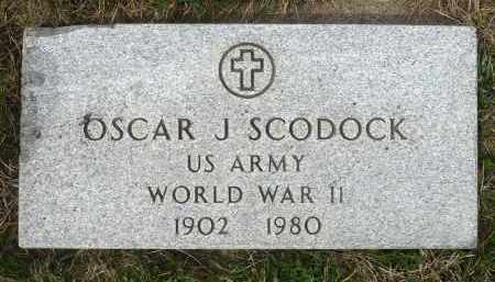 SCODOCK, OSCAR J. - Minnehaha County, South Dakota | OSCAR J. SCODOCK - South Dakota Gravestone Photos